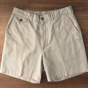 Towncraft | Gray Flat Front Shorts